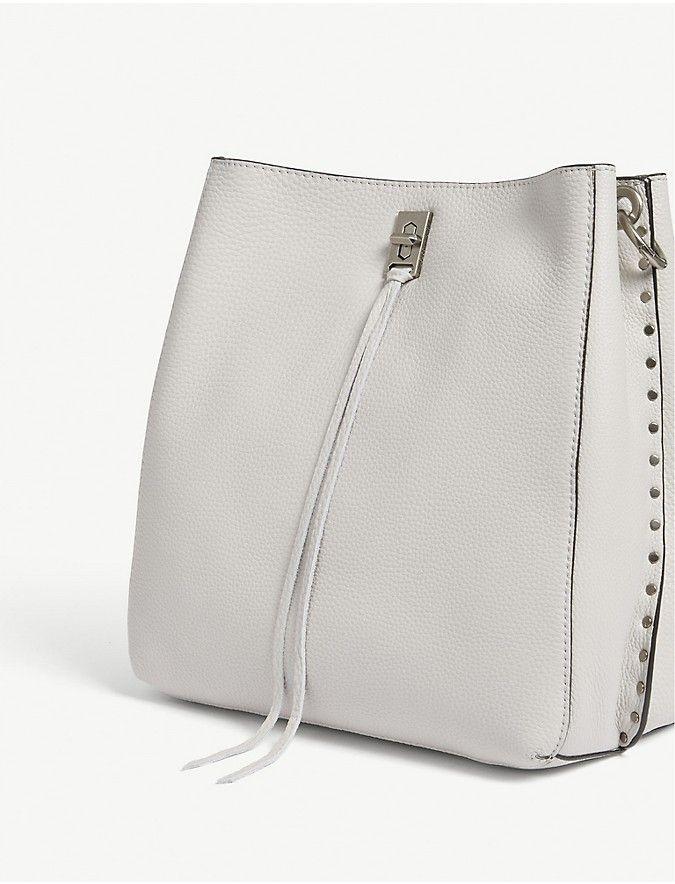 Rebecca Minkoff Darren Grained Leather Shoulder Bag Selfridges Bolsa Pinterest Bags And Silhouettes