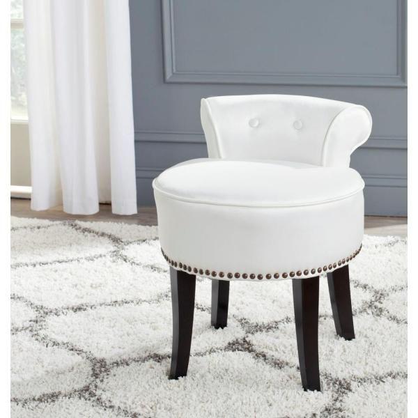 Emery Vanity Stool Bedbathandbeyond Com Vanity Stool Vanity Stools Benches Furniture