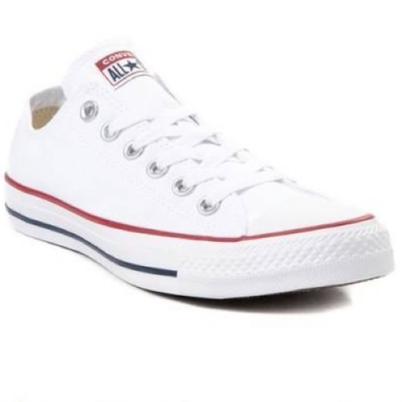 Converse Shoes | White Low Top Converse | Color: White