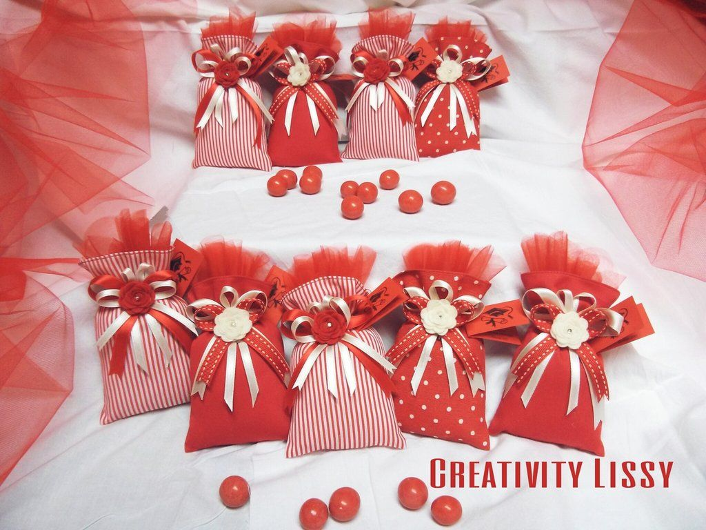 Sacchetti Porta Confetti Per Laurea Idee Per La Laurea Bomboniera Decorazione Festa Di Laurea