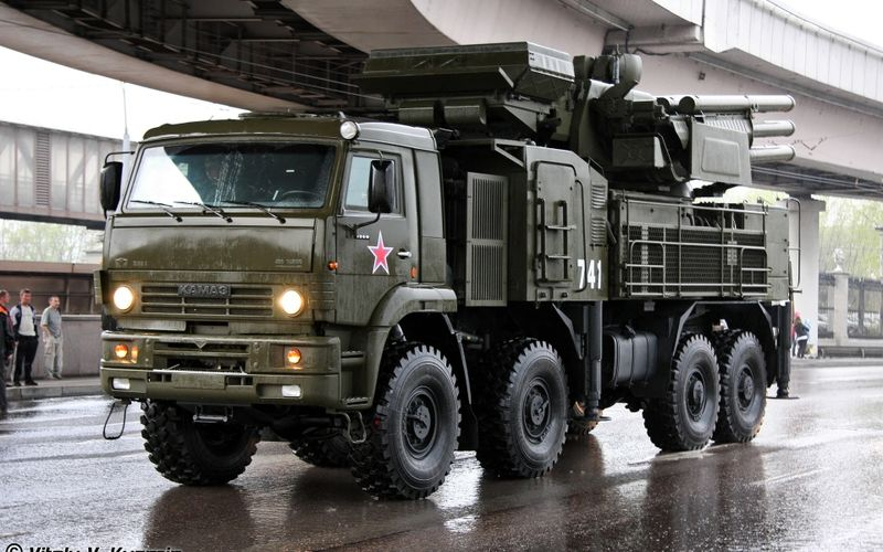 Kamaz 6560 Pantsir S1 With Images Military Vehicles Vehicles