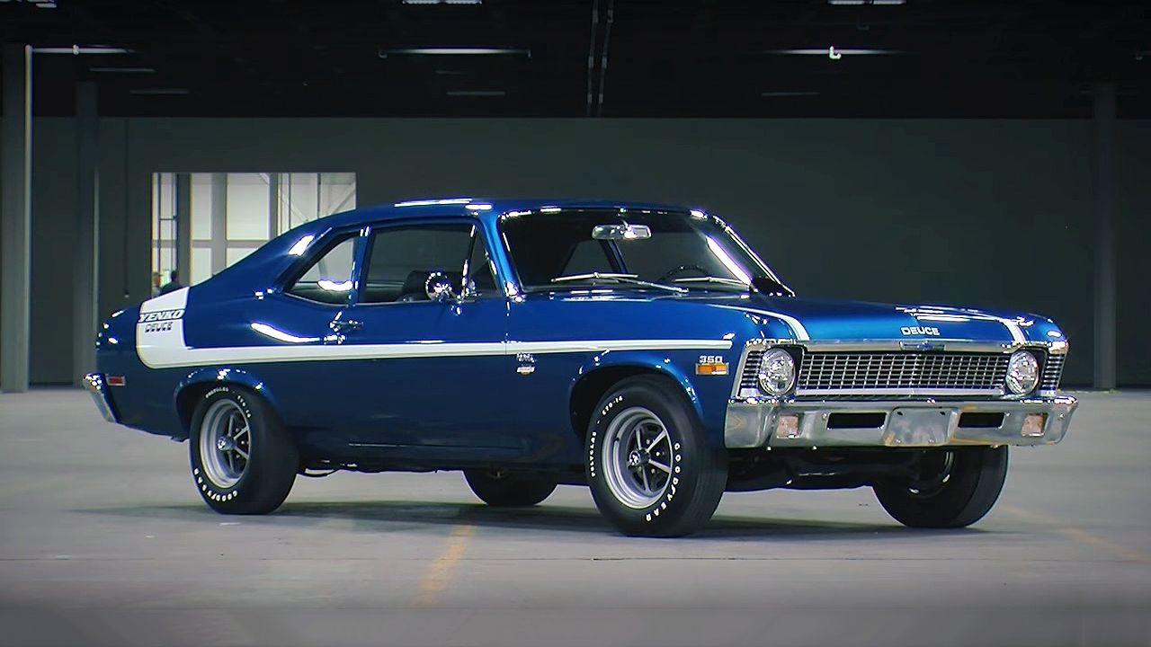 Ultra Rare And Powerful 1970 Chevrolet Nova Yenko Deuce Chevrolet Nova Chevy Muscle Cars Cool Sports Cars