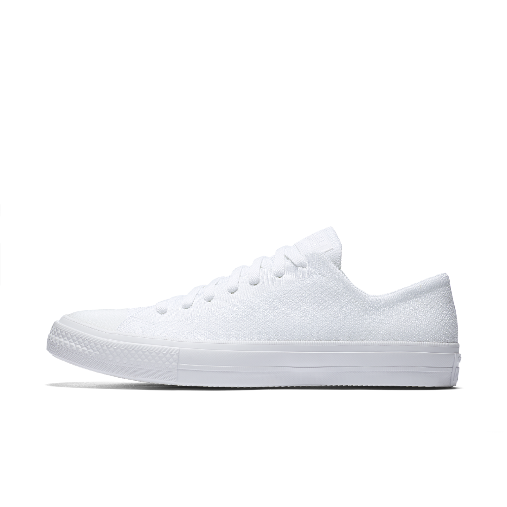 f8562e7830be Converse Chuck Taylor All Star x Nike Flyknit Low Top Men s Shoe Size 10.5 ( White)