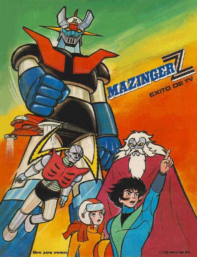 Album De Figuritas Mazinger Z Comics Y Dibujos Animados Dibujos De Los 80 Dibujos Animados Clasicos