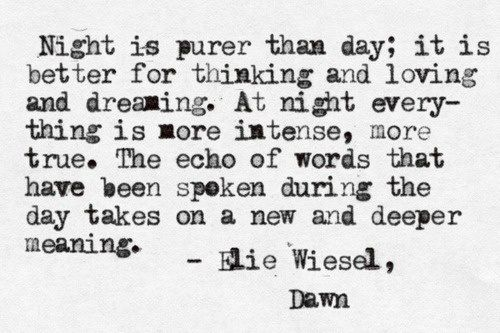 night and dawn comparison elie wisel s writings Compare and contrast: anne frank vs elie wiesel free let us never forget elie wiesel dawn, by elie wiesel night elie wiesel custom essay writing services.