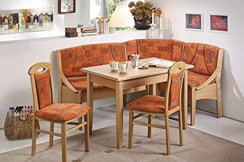 Modern Home And Kitchen Breakfast Nook The Santiago Dining Set In