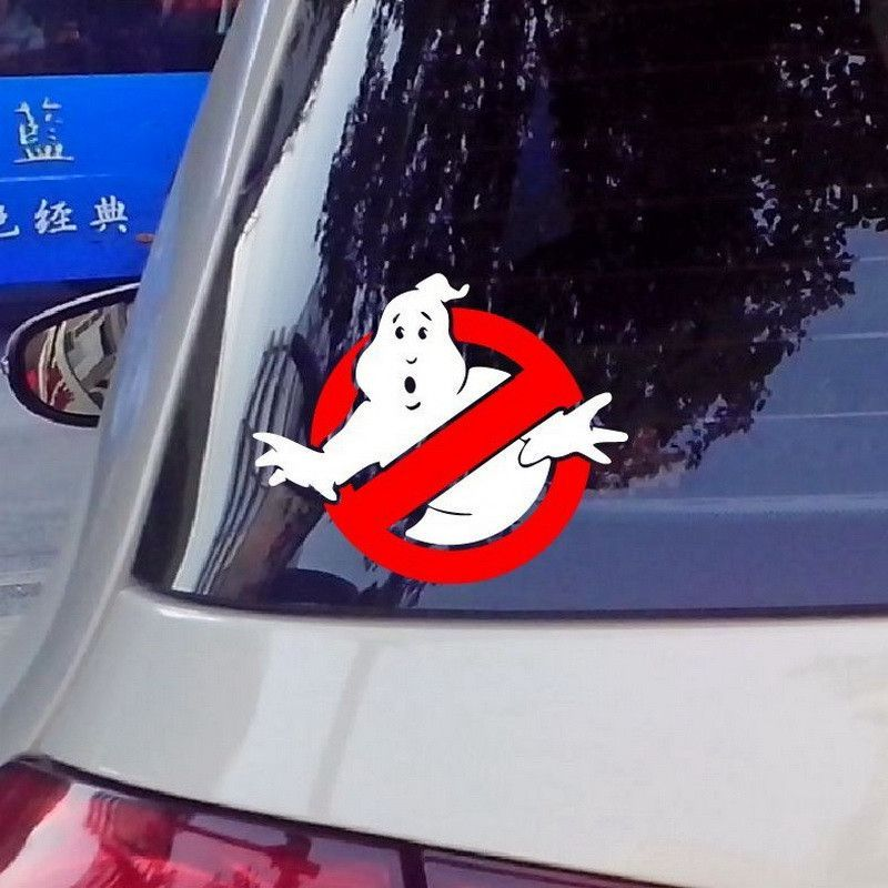Ghostbusters vinyl car window decal