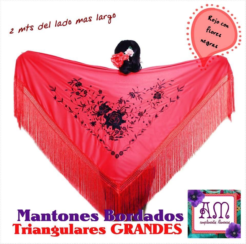 Nuevos Y Unicos Mantones De Jersey De Seda Bordados Con Flores De Manila Con Flecos Industriales Super Grandes Id Faldas Flamencas Seda Bordada Flores Negras