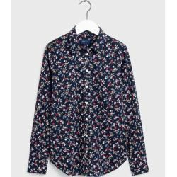 Photo of Gant floral stretch blouse (blue) GantGant