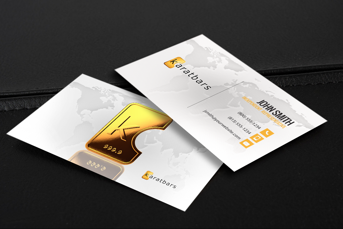 Karatbars Business Cards Free Shipping Network Marketing Business Card Marketing Business Card Printing Business Cards
