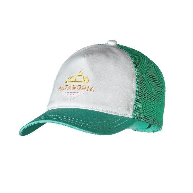 cf8f6697f65 Patagonia Women s Peak To Paddle Layback Trucker Hat - White WHI ...