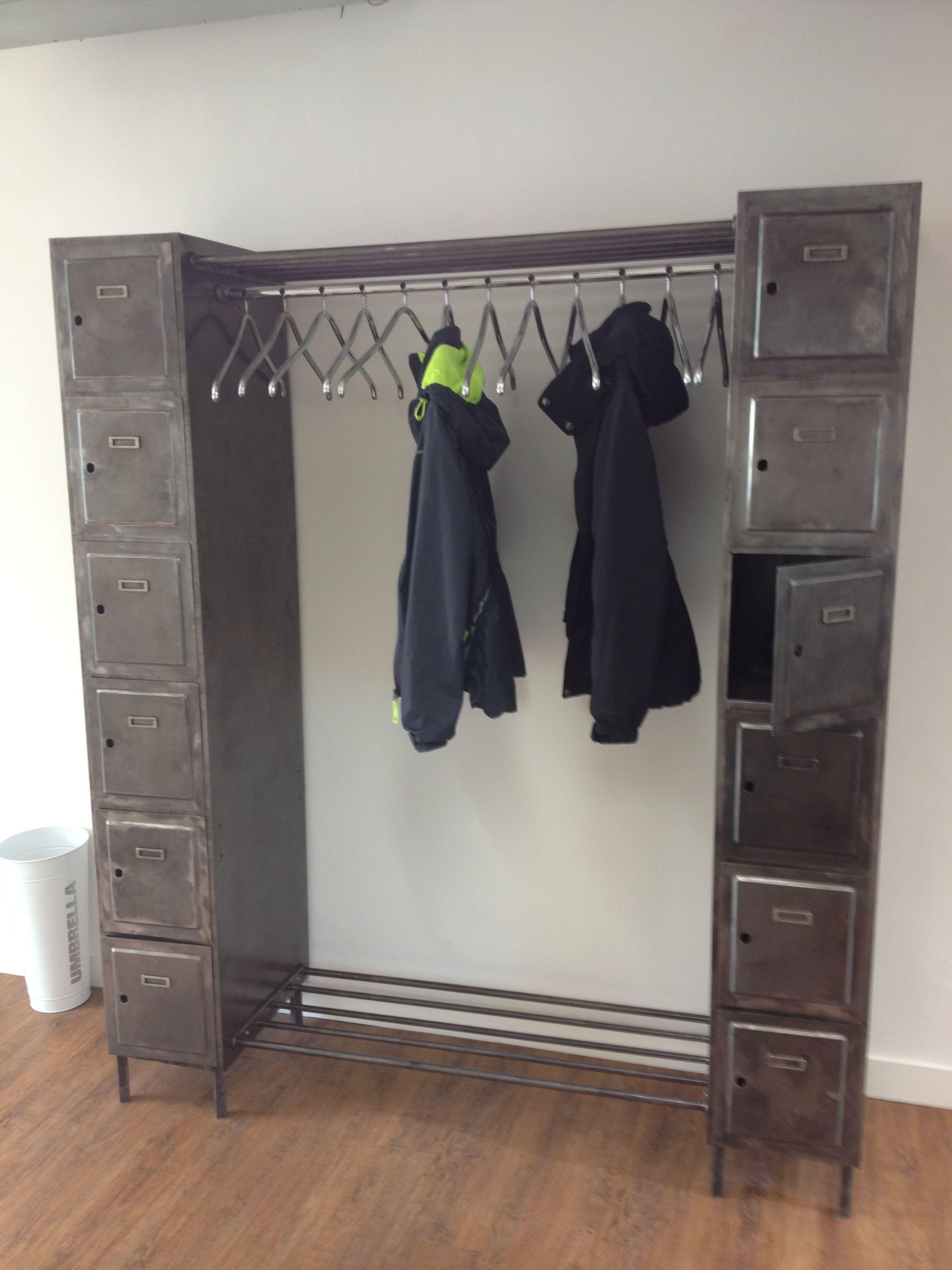 coat and locker storage coat shoe storage pinterest. Black Bedroom Furniture Sets. Home Design Ideas