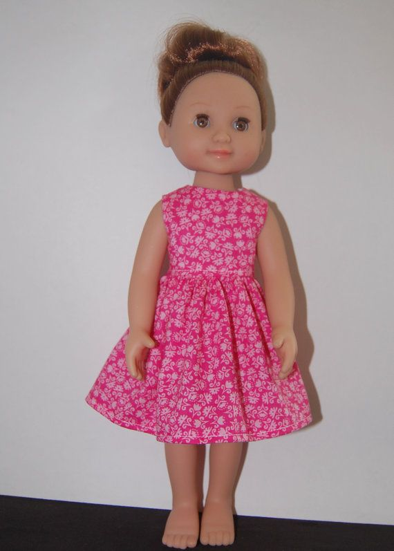 Pink Dress For 14 Inch Melissa Doug Mine To Love Doll