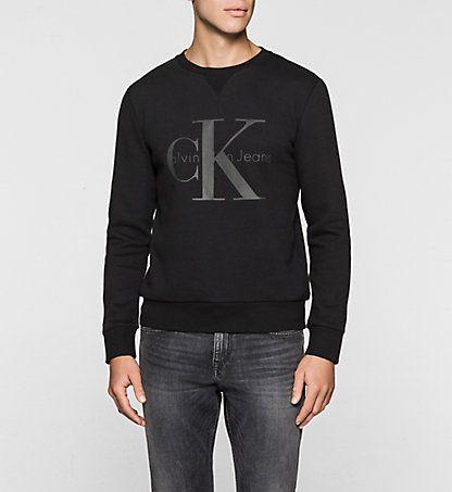 Logo Sweatshirt Hatch Herren Calvin Klein Deutschland Manner Outfit Neue Trends Trends