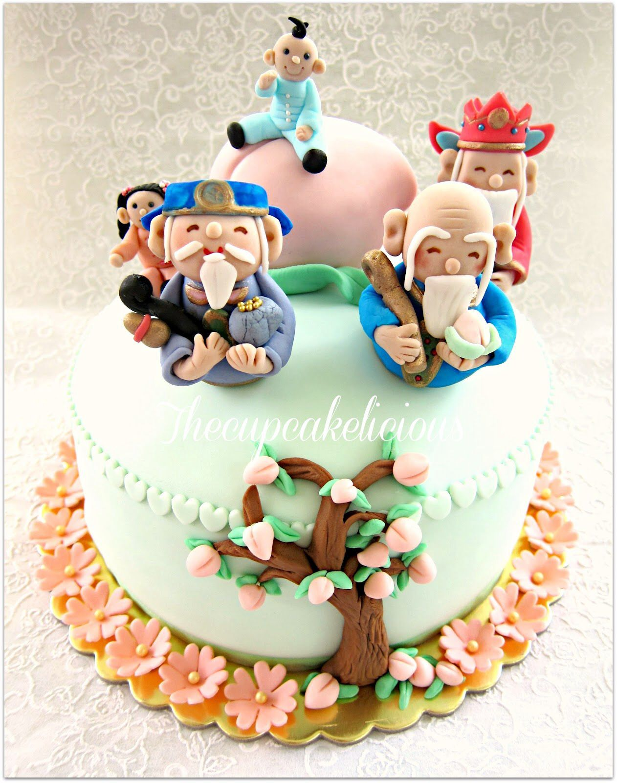 Excellent 20 Wonderful Image Of Asian Birthday Cake Taart Funny Birthday Cards Online Inifofree Goldxyz