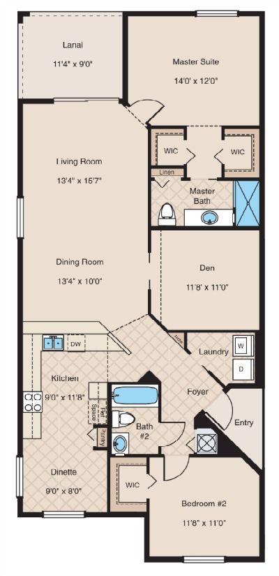 Colonade Floor Plan Plans