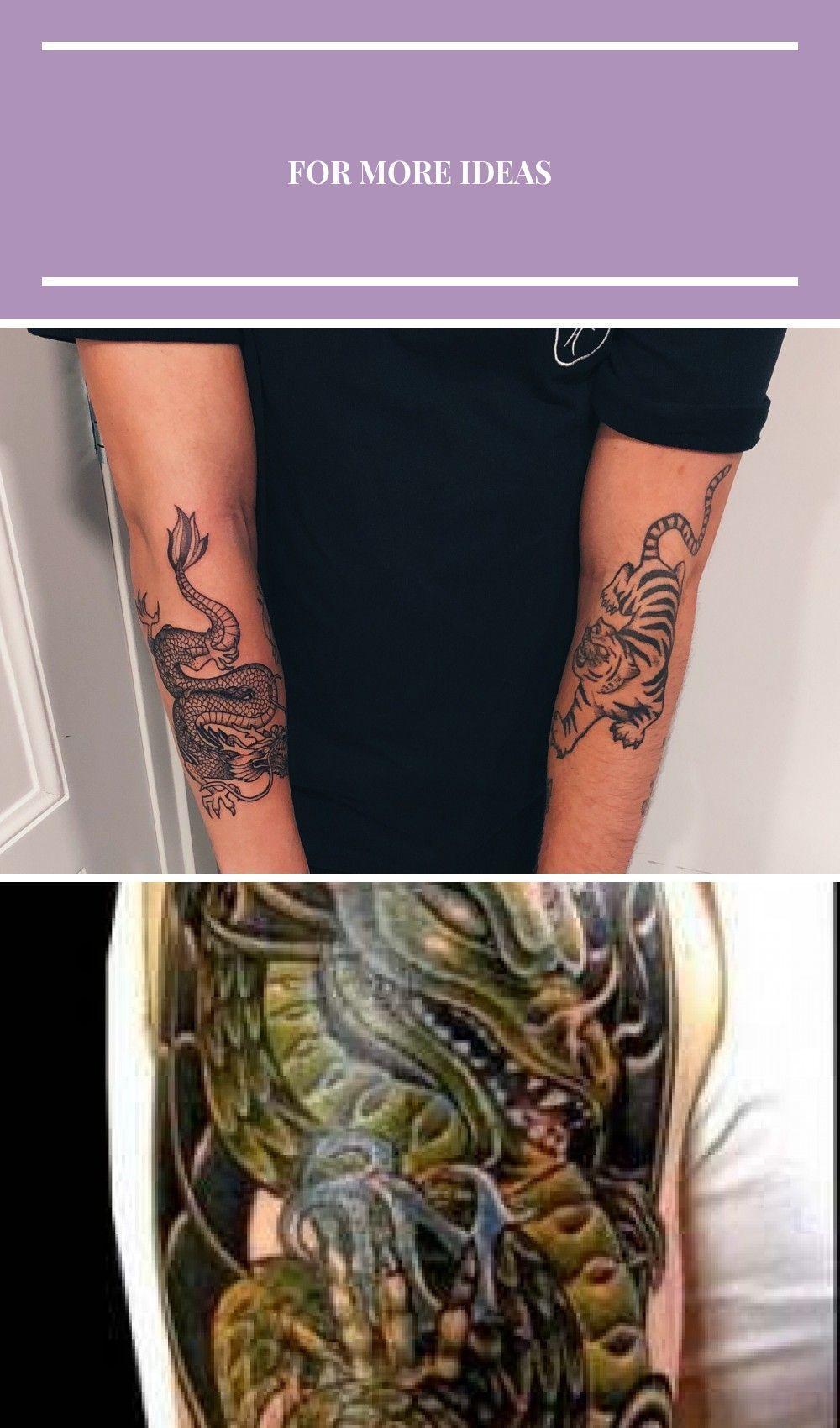 Photo of Dragon Tiger Tattoo Drachentattoo für Herren – Dragon Tiger Tattoo Drachentattoo für …