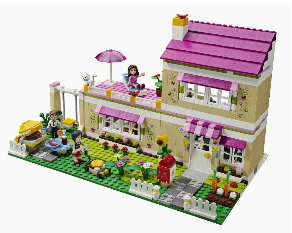 Lego Friends La Villetta Di Olivia 3315 Completo Lego Friends Sets Lego Friends Lego House