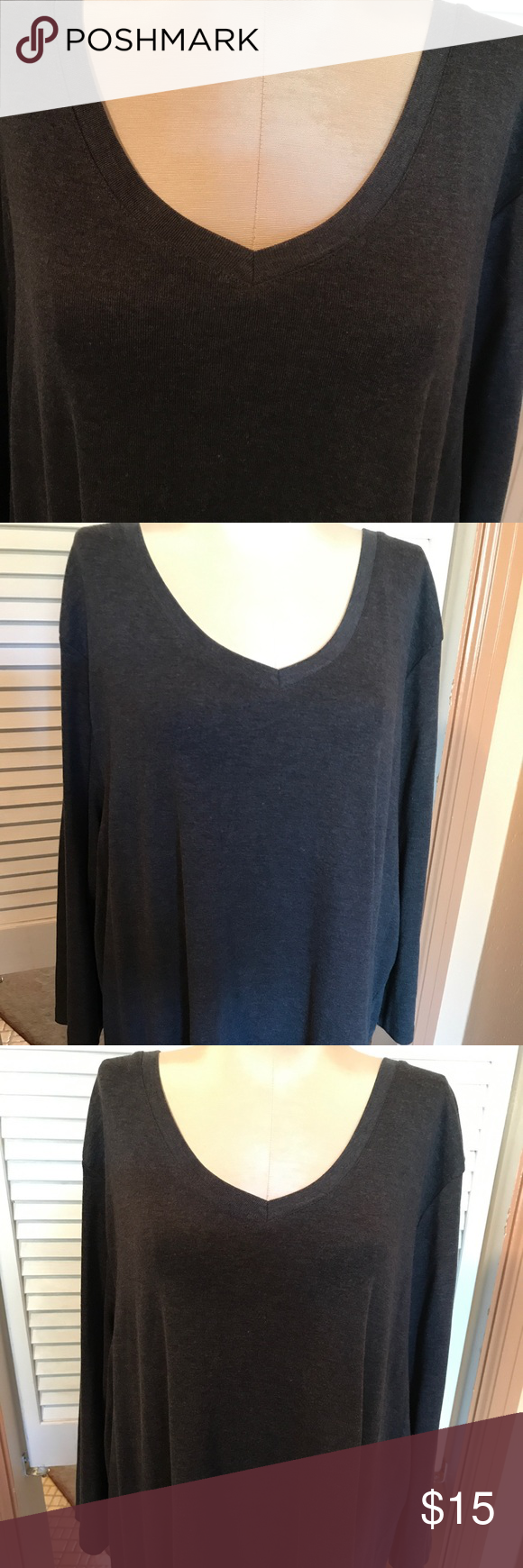 840f9ab6ab1 ➕ JC Penney St. John s Bay Women s Top Plus 3X EUC I m listing as ...