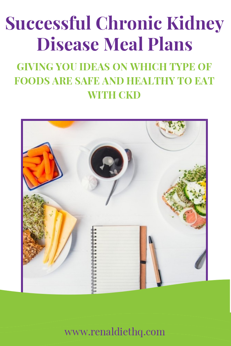 Successful Chronic Kidney Disease Meal Plans