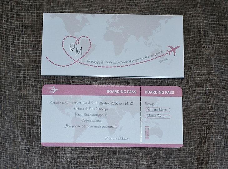 Biglietto Aereo Di Liligraf Foto 44 Festa A Tema Viaggio Partecipazioni Nozze Matrimoni A Tema Viaggio