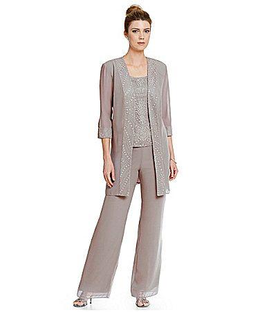 Le Bos 3-Piece Glitter Pant Set | Vestidos para ocasiones y Vestiditos