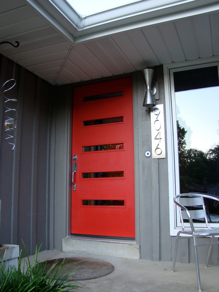 midcentury front door landscaping mid century modern door modern door mid century exterior. Black Bedroom Furniture Sets. Home Design Ideas