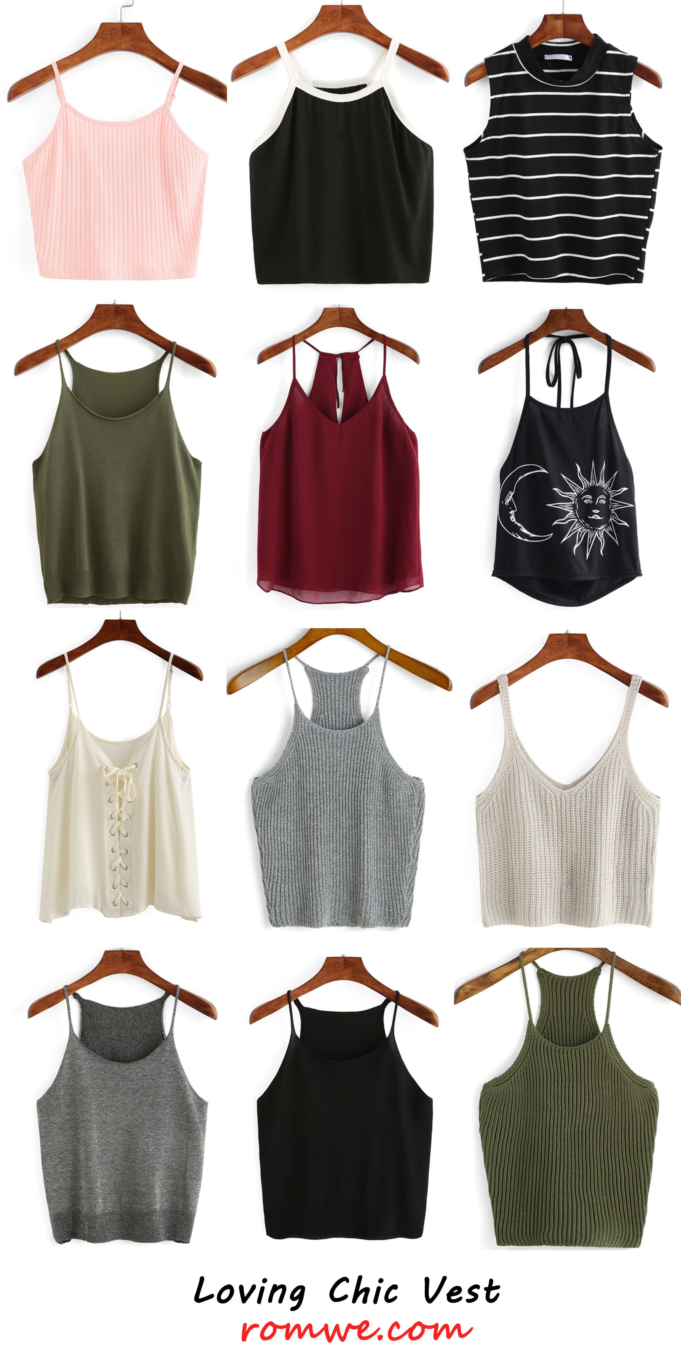 Loving chic vests - romwe.com