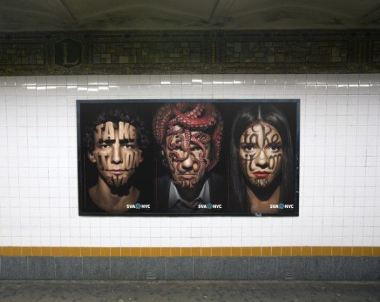 """School of Visual Arts: """"Take it On"""" by Sagmeister & Walsh"""