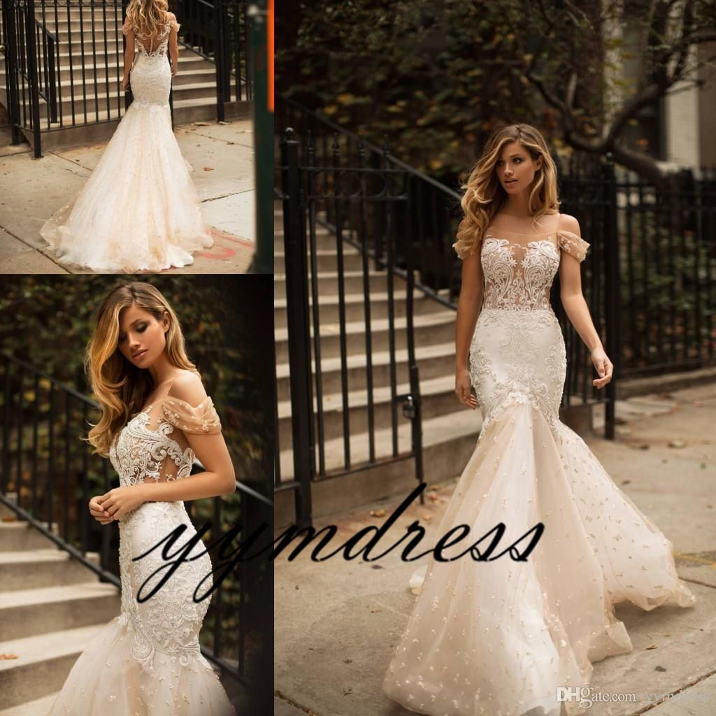 Milla nova modest wedding dresses beach bohemian lace sheath