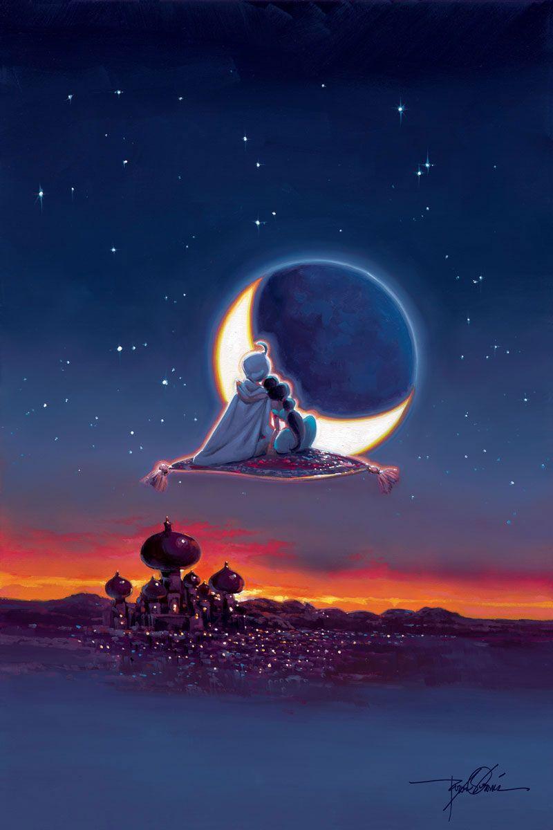 Aladdin - Magical Journey | Disney fine art, Disney ...