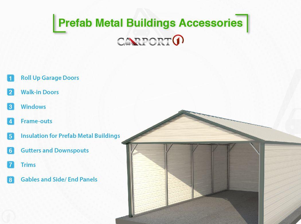 Prefab Metal Buildings Accessories Prefab metal