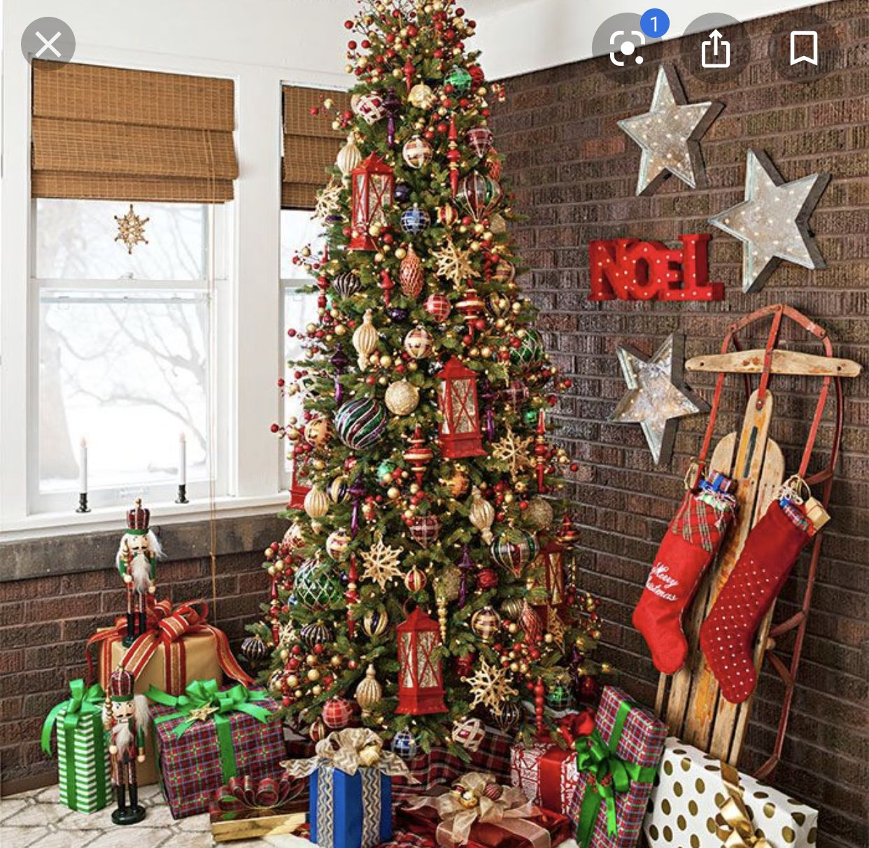 Shop Allen Roth 7 5 Ft Pre Lit Pine Artificial Christmas Tree With 900 Count Clear I Best Artificial Christmas Trees Incandescent Lights Fake Christmas Trees