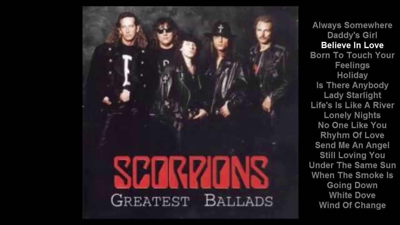 Scorpions Greatest Ballads Menschenrechte