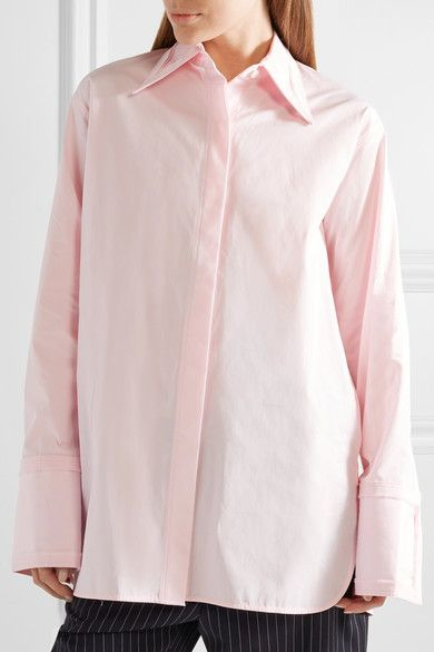 Many Kinds Of Sale Online Discount Online Oversized Cut-Out Poplin Shirt Helmut Lang For Cheap Sale Online BKf6JQWgI