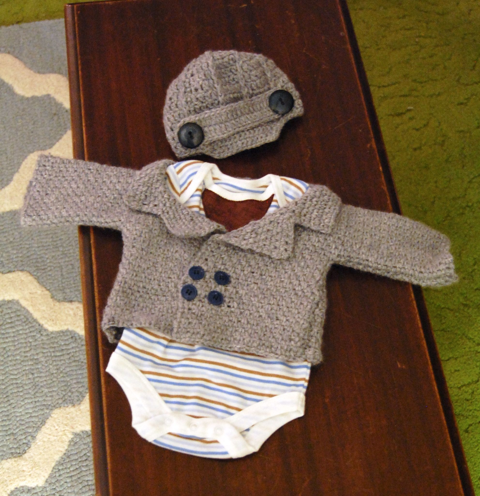 Baby Boy Crochet Layette | It\'s A Boy! | Pinterest