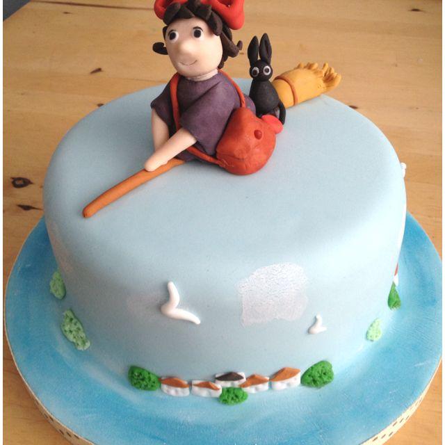 Kikis delivery service cake Baby girls birthday Pinterest