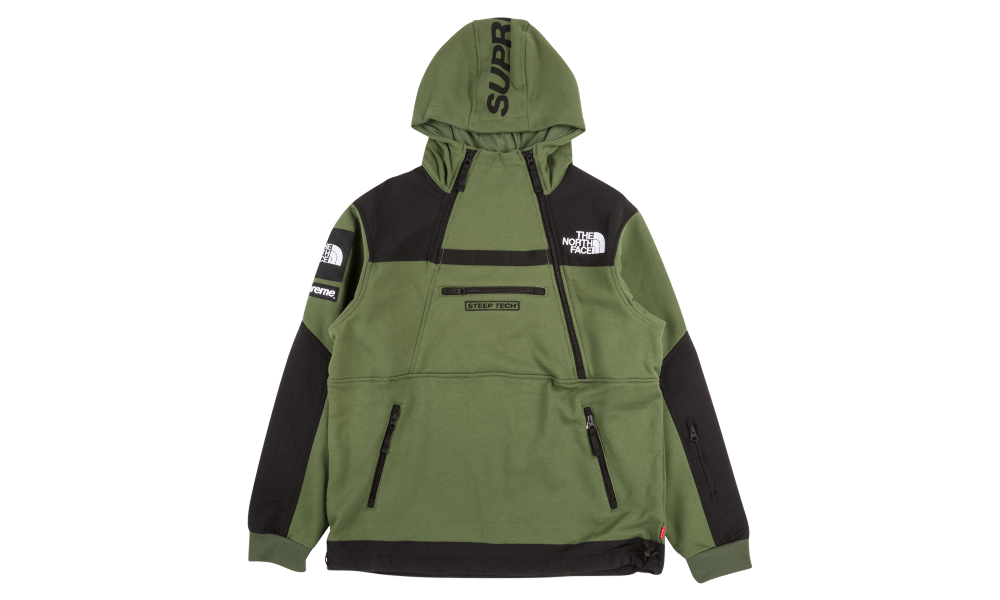Supreme TNF Steep Tech Sweatshirt SU1425 Sweatshirts