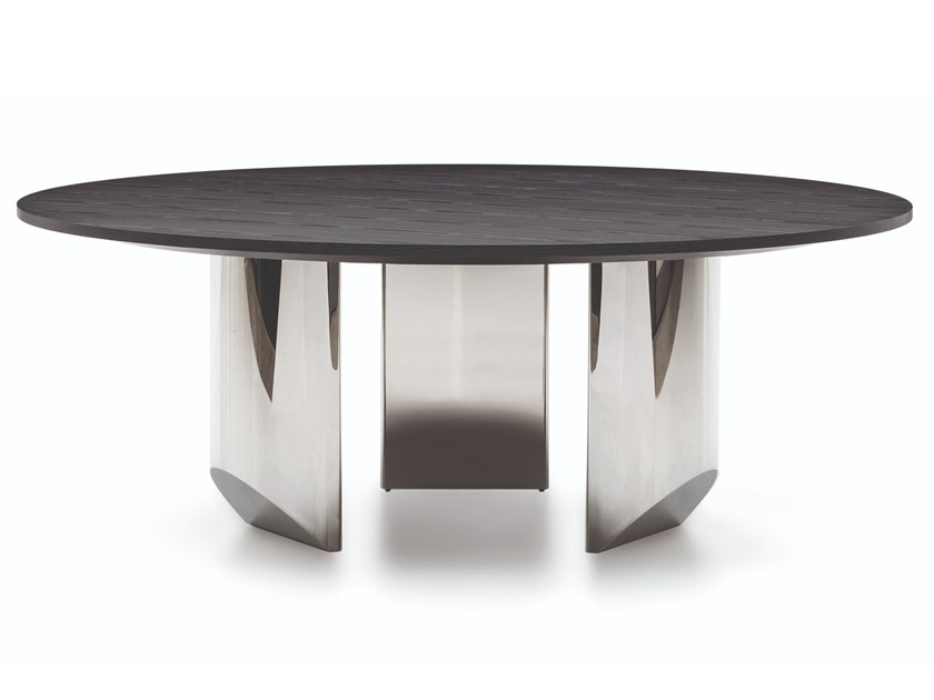 Wedge Wooden Table By Minotti Design Nendo