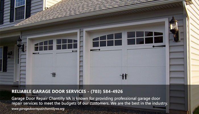 Garage Door Repair Chantilly VA Is Known For Providing Professional Garage  Door Repair Services To Meet