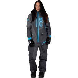 Photo of Fxr Recruit Lite women 1-piece snowmobile station wagon black blue S M