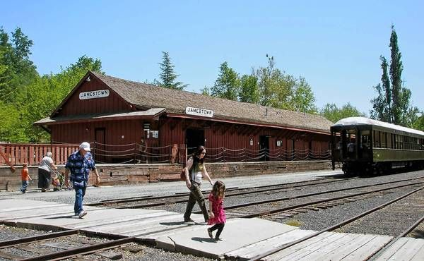 Sonora, CA- to take Andy to Jamestown and the historic railway
