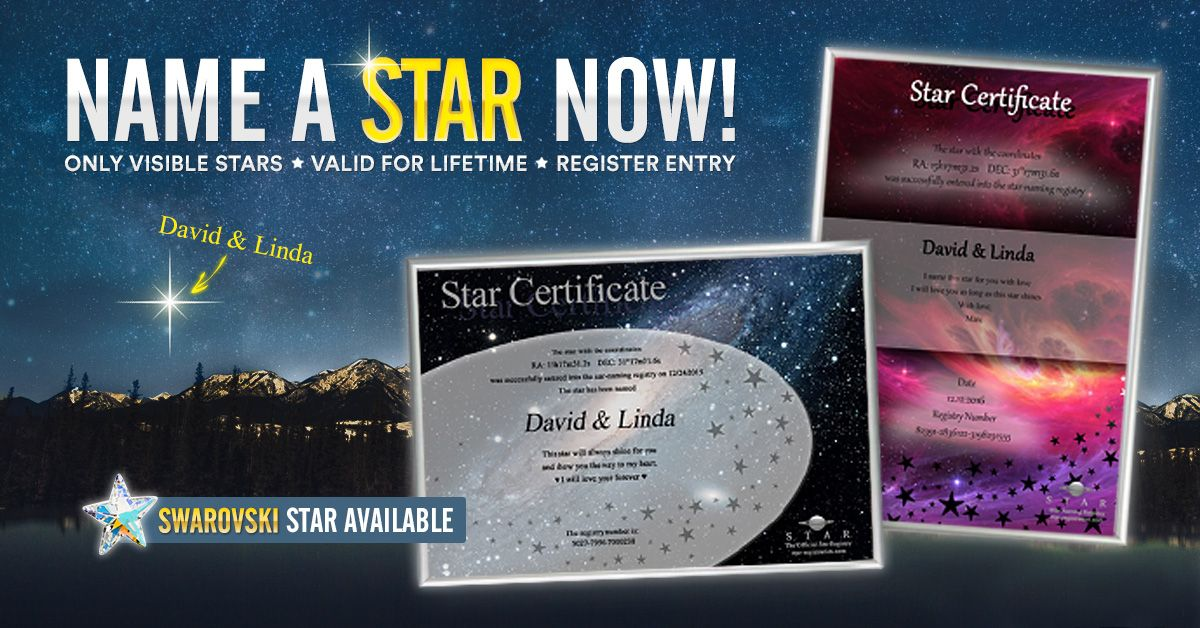 Naming A Star Is One Of The Best Gifts I Have Seen Yet Names Stars Then And Now Stars