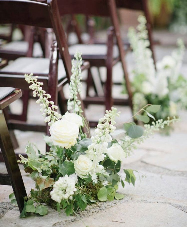 Flower Aisle Wedding: Pin By Roots Floral Design /Kentucky Wedding Florist On