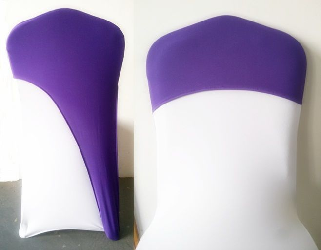 Stupendous Purple Colour Chair Caps For Weddings Spandex Chair Cover Pdpeps Interior Chair Design Pdpepsorg