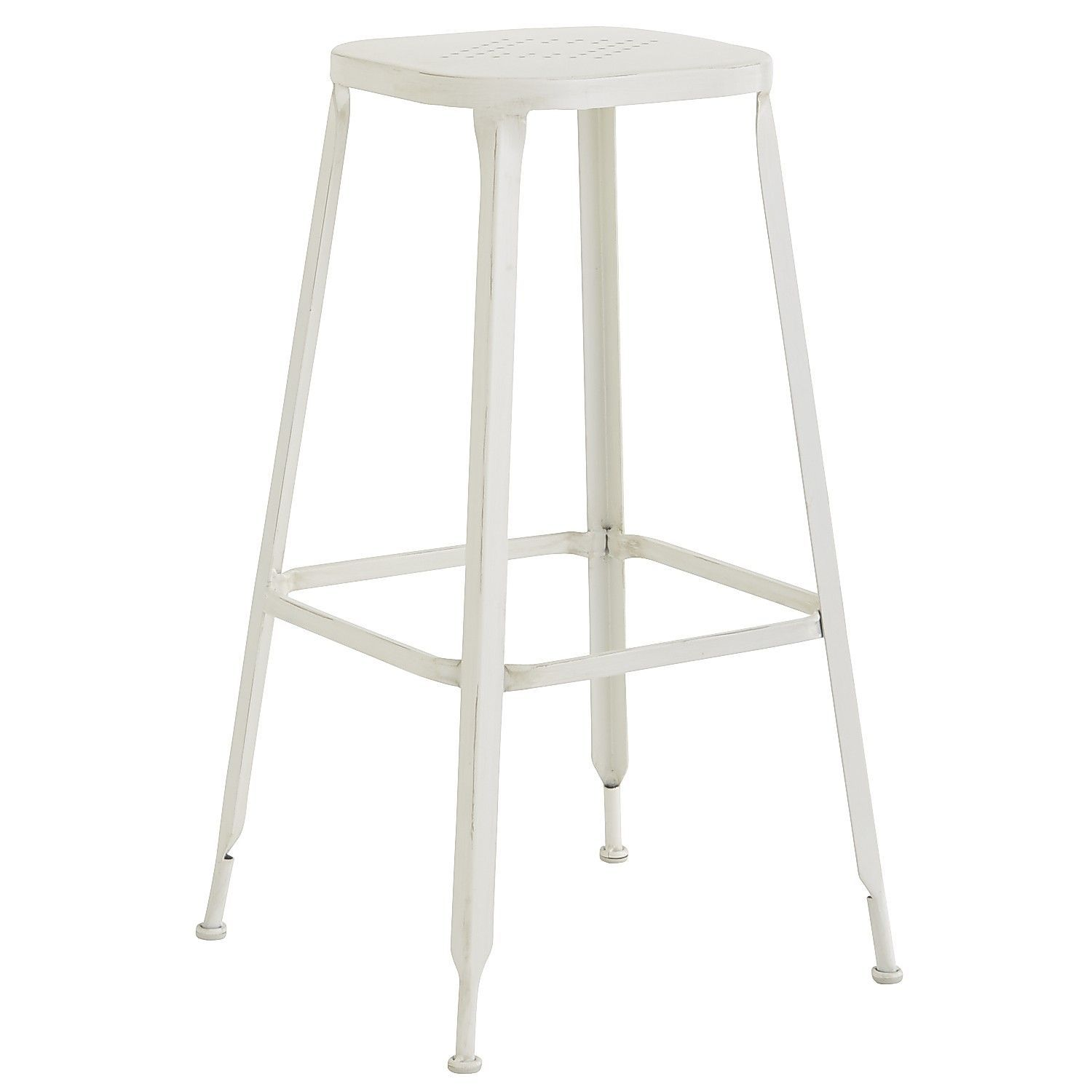 Weldon Backless Barstool Antique White Pier 1 Imports