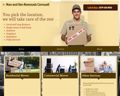 Man & Van Services Cornwall & Devon