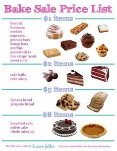 Pin By Maggie Amick On Cooking Bake Sale Recipes Fundraiser