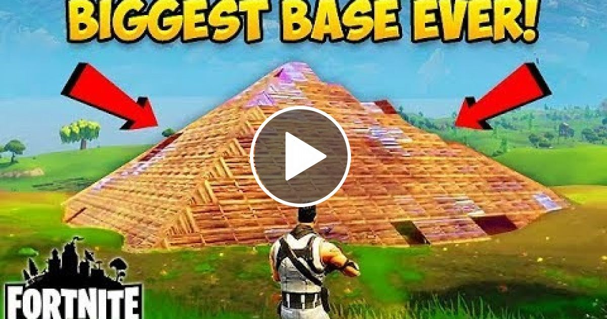 Biggest Base Ever Made Fortnite Funny Fails And Wtf Moments 19