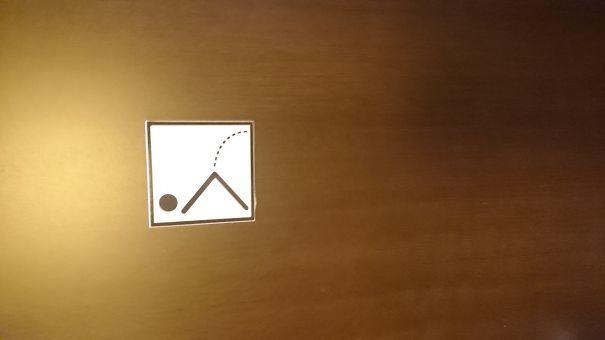 #creative #toilet #sign #men #women #bordje #toiletbordje   pinned by Drukwerkdeal.nl